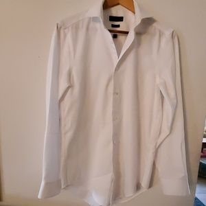 Mens Calvin Klein Long Sleeve Dress Shirt-32/33